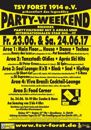 Party-Weekend Forst
