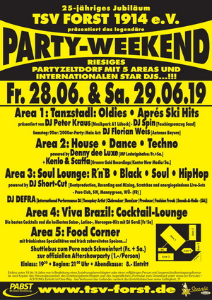 TSV-Forst-Party-Weekend-2019